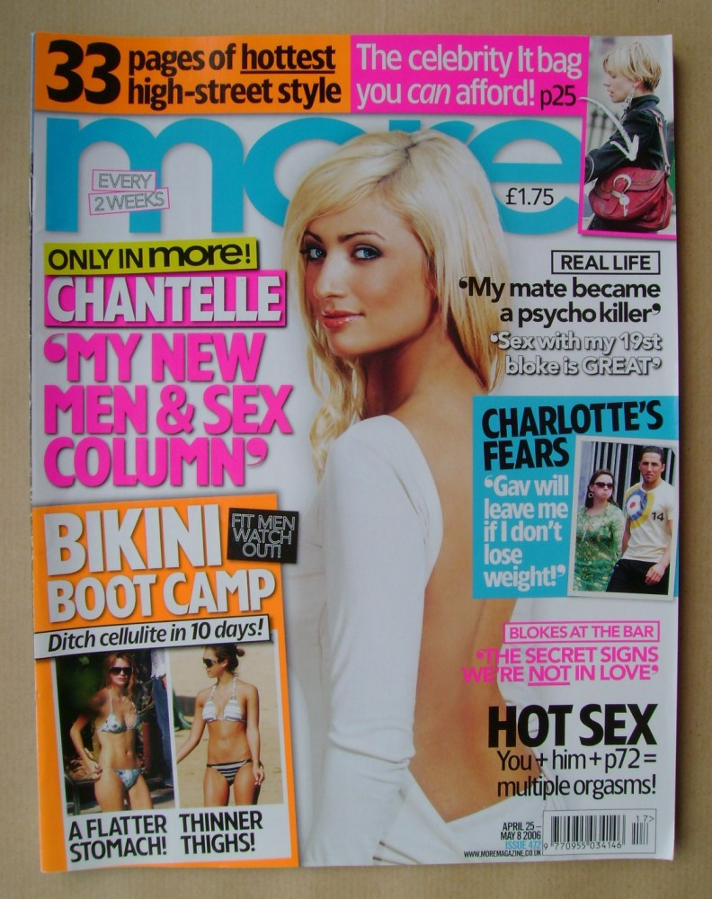 <!--2006-04-25-->More magazine - Chantelle Houghton cover (25 April - 8 May