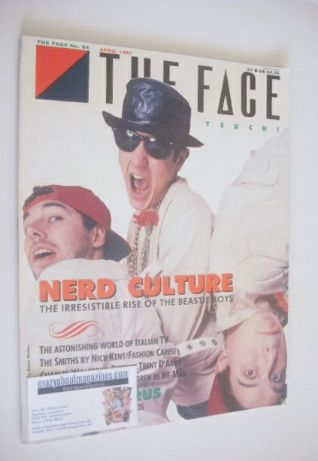<!--1987-04-->The Face magazine - Beastie Boys cover (April 1987 - Issue 84