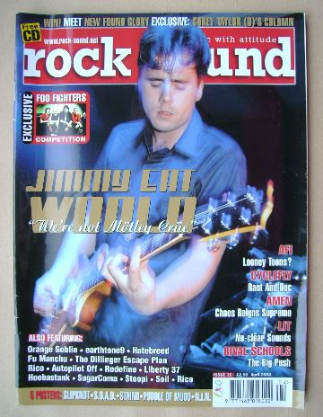 <!--2002-04-->Rock Sound magazine - April 2002