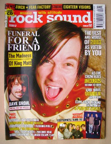 <!--2004-02-->Rock Sound magazine - February 2004