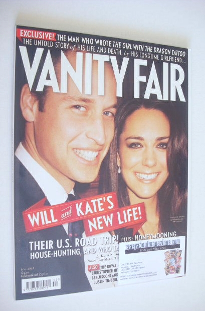 <!--2011-07-->Vanity Fair magazine - Prince William and Kate Middleton cove