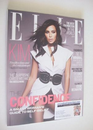 <!--2015-01-->British Elle magazine - January 2015 - Kim Kardashian cover