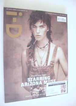 i-D magazine - Arizona Muse cover (Summer 2012 - Issue 319)