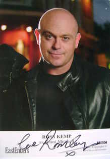 Ross Kemp autograph (ex EastEnders actor)