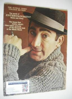 The Sunday Times Colour Section magazine - Lionel Bart cover (11 February 1962)