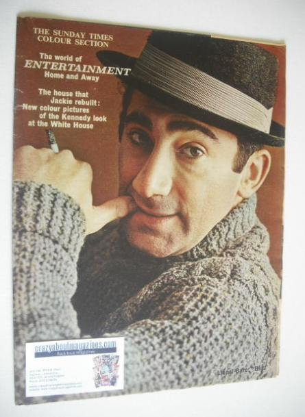 <!--1962-02-11-->The Sunday Times Colour Section magazine - Lionel Bart cov