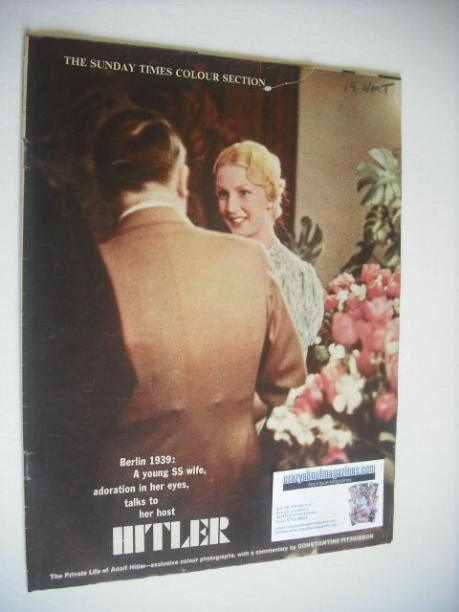 <!--1962-02-18-->The Sunday Times Colour Section magazine - Hitler cover (1