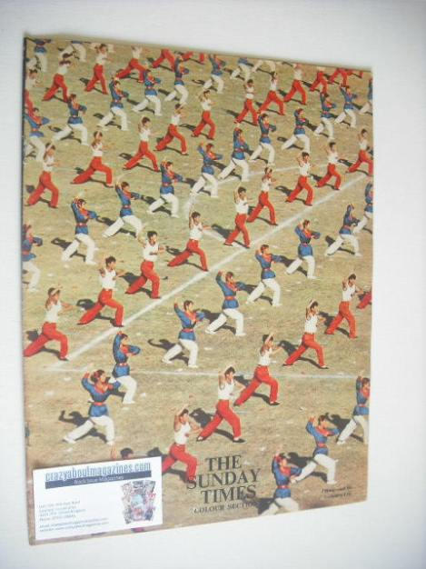 <!--1962-03-25-->The Sunday Times Colour Section magazine - Peking and the