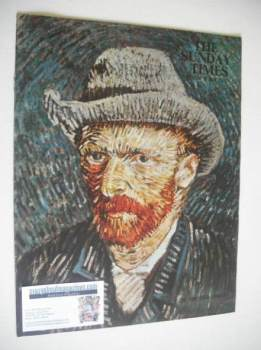 The Sunday Times Colour Section magazine - Vincent Van Gogh cover (15 April 1962)