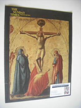 The Sunday Times Colour Section magazine - The Crucifixion cover (22 April 1962)