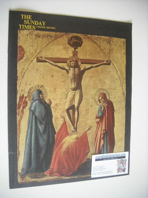 <!--1962-04-22-->The Sunday Times Colour Section magazine - The Crucifixion