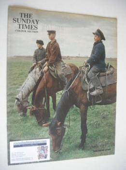 The Sunday Times Colour Section magazine - Trans-Siberian Journey cover (6 May 1962)
