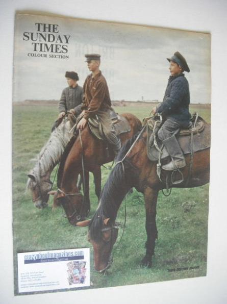 <!--1962-05-06-->The Sunday Times Colour Section magazine - Trans-Siberian