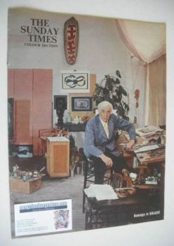 The Sunday Times Colour Section magazine - George Braque cover (13 May 1962)