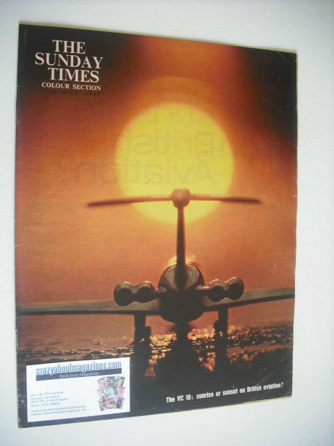 <!--1962-05-27-->The Sunday Times Colour Section magazine - The VC 10 cover