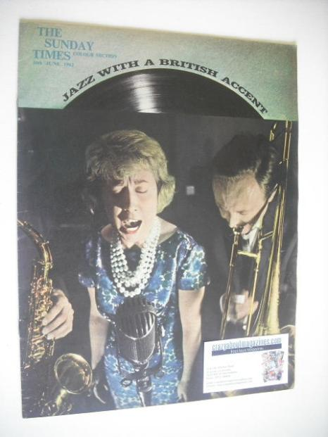 <!--1962-06-10-->The Sunday Times Colour Section magazine - Jazz With A Bri
