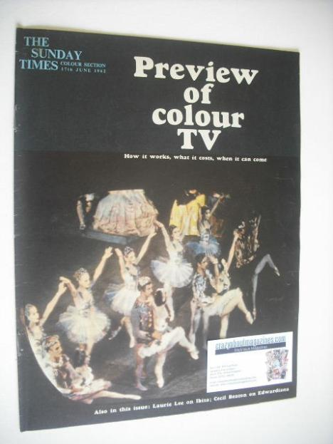<!--1962-06-17-->The Sunday Times Colour Section magazine - Preview Of Colo
