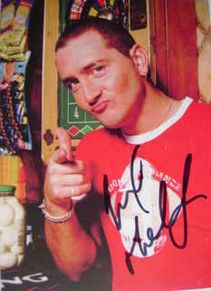 Will Mellor autograph (hand-signed photograph)