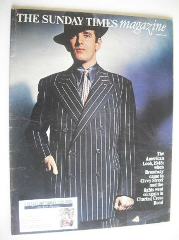 <!--1969-01-19-->The Sunday Times magazine - The American Look cover (19 Ja
