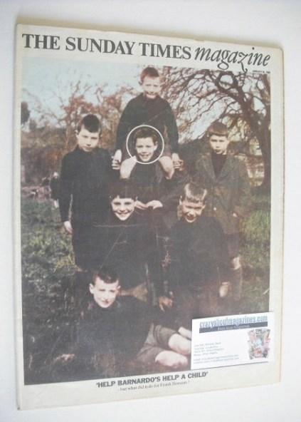 <!--1969-01-26-->The Sunday Times magazine - Help Barnardo's cover (26 Janu