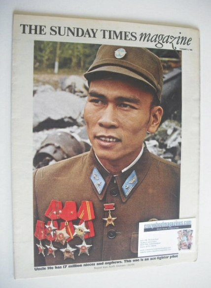 <!--1969-02-02-->The Sunday Times magazine - Report From North Vietnam cove