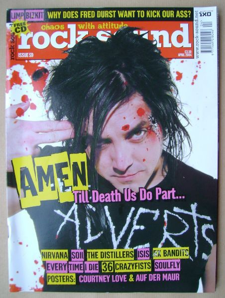 <!--2004-04-->Rock Sound magazine - April 2004