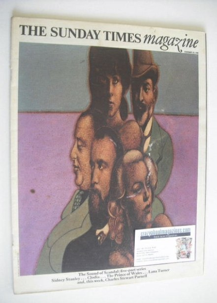 <!--1969-02-23-->The Sunday Times magazine - The Sound Of Scandal cover (23