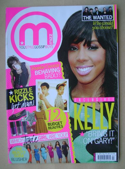 <!--2011-10-27-->MIZZ magazine - Kelly Rowland cover (27 October - 9 Novemb