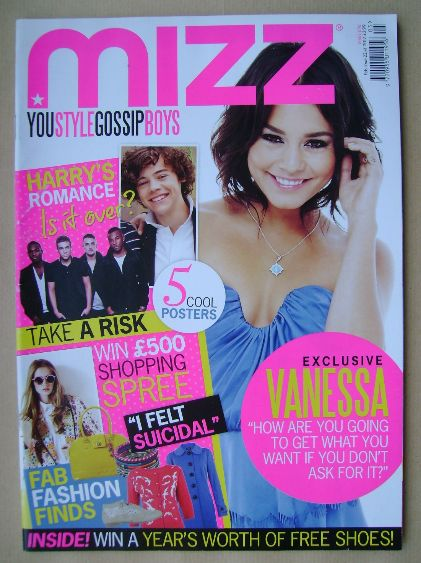 <!--2012-02-02-->MIZZ magazine - Vanessa Hudgens cover (2-22 February 2012)