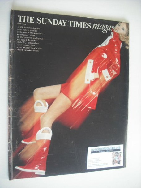 <!--1969-03-02-->The Sunday Times magazine - Fashion cover (2 March 1969)