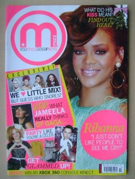 MIZZ magazine - Rihanna cover (8-21 December 2011)
