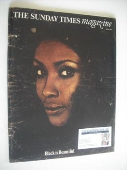 The Sunday Times magazine - Black Is Beautiful cover (9 March 1969)