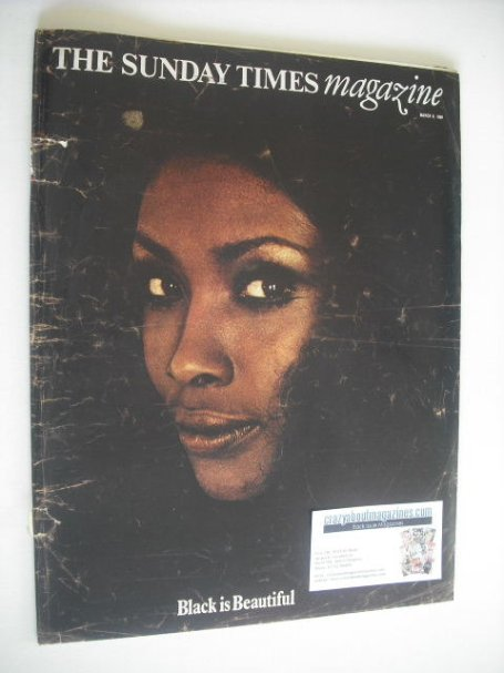 <!--1969-03-09-->The Sunday Times magazine - Black Is Beautiful cover (9 Ma