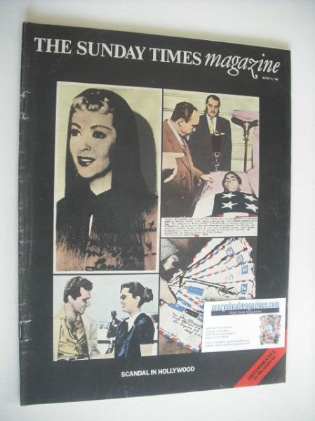 <!--1969-03-16-->The Sunday Times magazine - Scandal In Hollywood cover (16