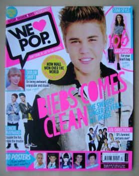 We Love Pop magazine - Justin Bieber cover (27 June - 24 July 2012)