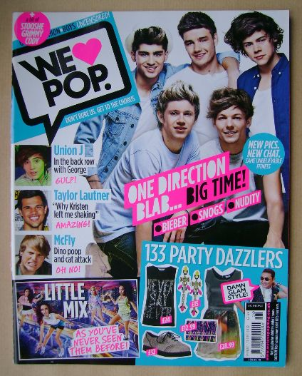 <!--2012-11-14-->We Love Pop magazine - One Direction cover (14 November -