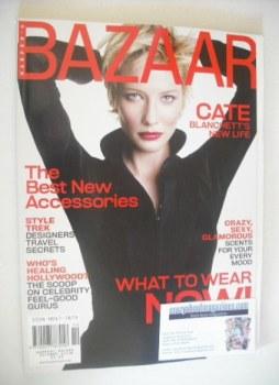 Harper's Bazaar magazine - October 2001 - Cate Blanchett cover