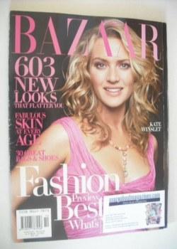 Harper's Bazaar magazine - October 2004 - Kate Winslet cover