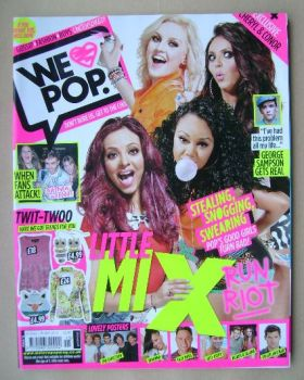 We Love Pop magazine - Little Mix cover (22 August - 18 September 2012)