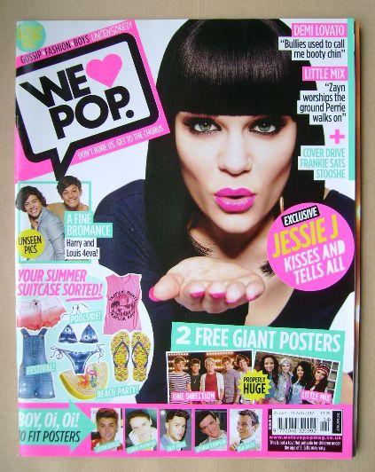 <!--2012-07-25-->We Love Pop magazine - Jessie J cover (25 July - 21 August