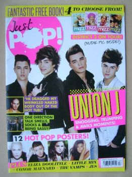 Just Pop magazine - Union J cover (Summer/Autumn 2013)