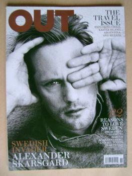 Out magazine - Alexander Skarsgard (November 2011)