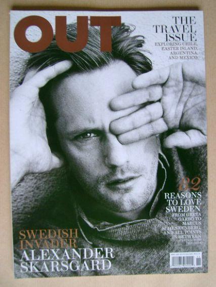 <!--2011-11-->Out magazine - Alexander Skarsgard (November 2011)
