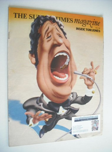 <!--1969-04-06-->The Sunday Times magazine - Tom Jones cover (6 April 1969)
