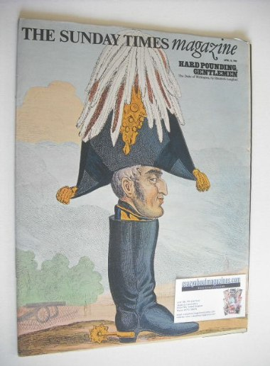 <!--1969-04-13-->The Sunday Times magazine - The Duke of Wellington cover (