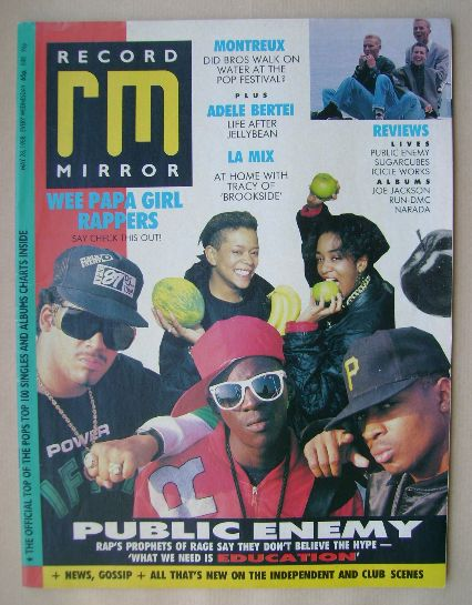 <!--1988-05-28-->Record Mirror magazine - 28 May 1988
