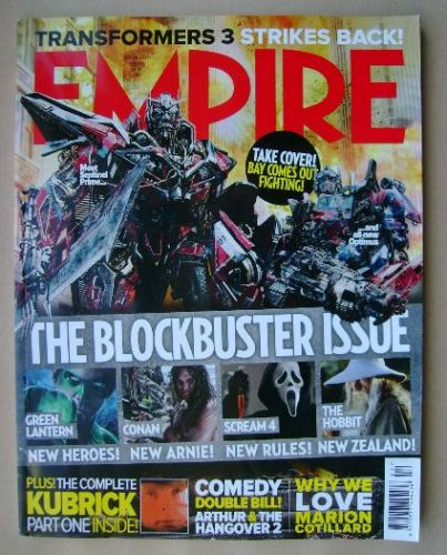 <!--2011-04-->Empire magazine - April 2011