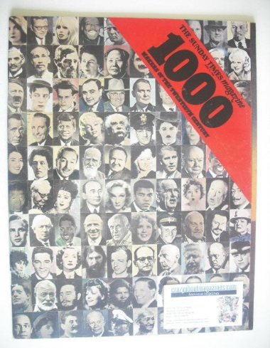 <!--1969-06-15-->The Sunday Times magazine - 1000 Makers Of the 20th Centur