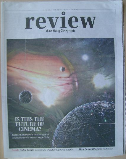 The Daily Telegraph Review newspaper supplement - 4 October 2014