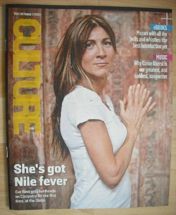 <!--2014-05-18-->Culture magazine - Eve Best cover (18 May 2014)